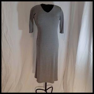 Petite Gray Dress 8P